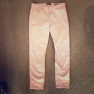 Blush Pink Banana Republic Skinny Jeans